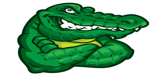 Wilson Gator with arms crossed