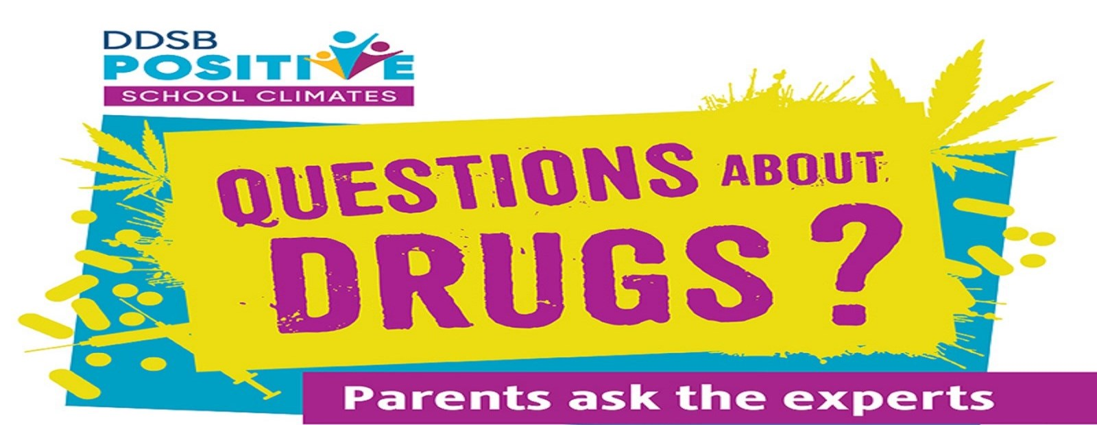 Questions About Drugs promotional poster